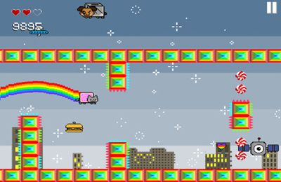 Download Nyan Cat Adventure iPhone free game.