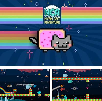 In addition to the game The Sims 3: Ambitions for iPhone, iPad or iPod, you can also download Nyan Cat Adventure for free.