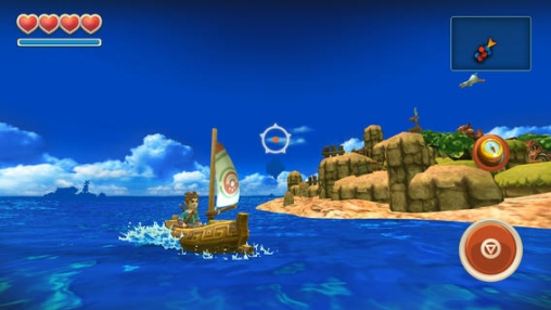 Screenshots of the Oceanhorn game for iPhone, iPad or iPod.