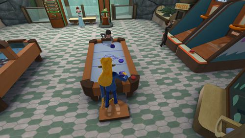 Capturas de pantalla del juego Octodad: Dadliest catch para iPhone, iPad o iPod.