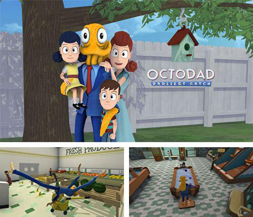 In addition to the game Burger Cat for iPhone, iPad or iPod, you can also download Octodad: Dadliest catch for free.