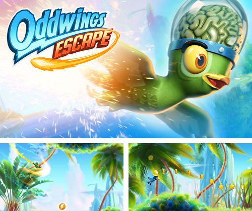 除了 iPhone、iPad 或 iPod 游戏,您还可以免费下载Oddwings escape, 。