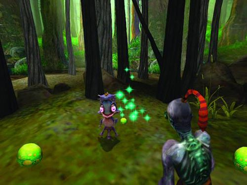 Capturas de pantalla del juego Oddworld: Munch's oddysee para iPhone, iPad o iPod.