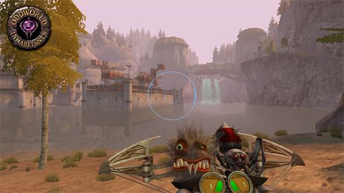 Écrans du jeu Oddworld: Stranger's wrath pour iPhone, iPad ou iPod.