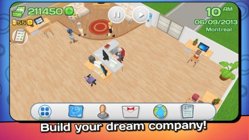 Capturas de pantalla del juego Office Story para iPhone, iPad o iPod.