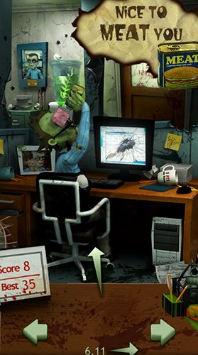 Screenshots do jogo Office zombie para iPhone, iPad ou iPod.