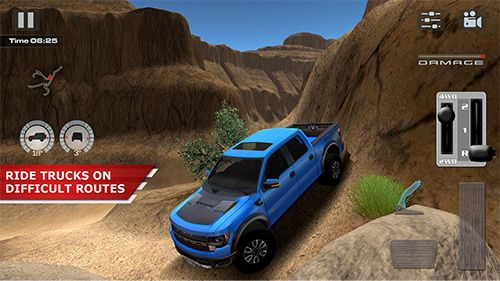 Download Offroad drive desert iPhone free game.