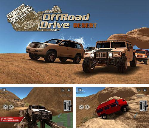 In addition to the game Helicopter taxi for iPhone, iPad or iPod, you can also download Offroad drive desert for free.
