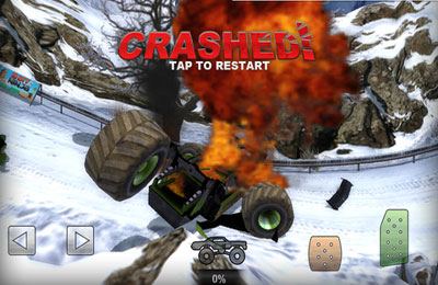Screenshots of the Offroad Legends game for iPhone, iPad or iPod.