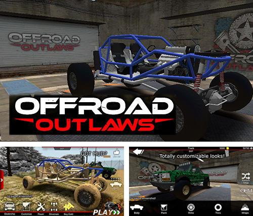 In addition to the game War of zombie: Terminator for iPhone, iPad or iPod, you can also download Offroad outlaws for free.