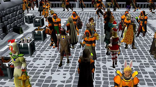 Screenshots do jogo Old school: Runescape para iPhone, iPad ou iPod.