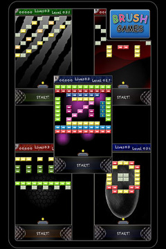 Capturas de pantalla del juego Oldschool Blocks para iPhone, iPad o iPod.