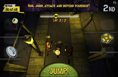 Игра Olympic Zombies Run для iPhone