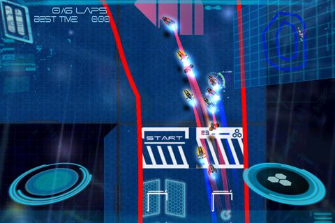 Free Omega: X racer download for iPhone, iPad and iPod.