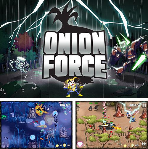 In addition to the game Syder Arcade HD for iPhone, iPad or iPod, you can also download Onion force for free.