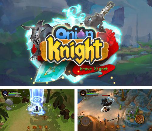 In addition to the game Carrot Fantasy for iPhone, iPad or iPod, you can also download Onion knigh for free.