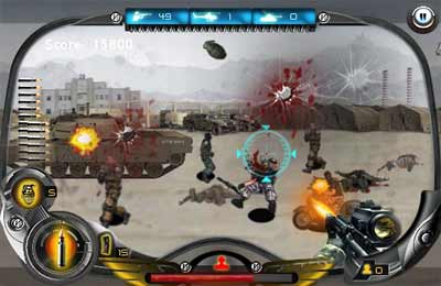 Screenshots of the Operation iWolf! game for iPhone, iPad or iPod.