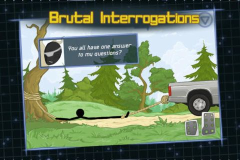 Screenshots of the Optical inquisitor game for iPhone, iPad or iPod.