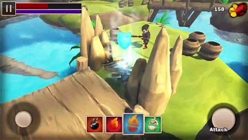 Capturas de pantalla del juego Oraia rift para iPhone, iPad o iPod.