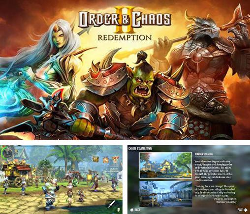 In addition to the game Ninja Chicken for iPhone, iPad or iPod, you can also download Order and chaos 2: Redemption for free.