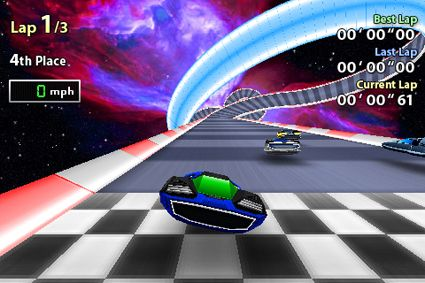 Capturas de pantalla del juego Orion racer para iPhone, iPad o iPod.