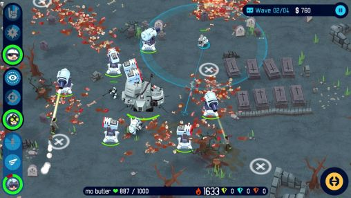 Écrans du jeu OTTTD: Over the top tower defense pour iPhone, iPad ou iPod.