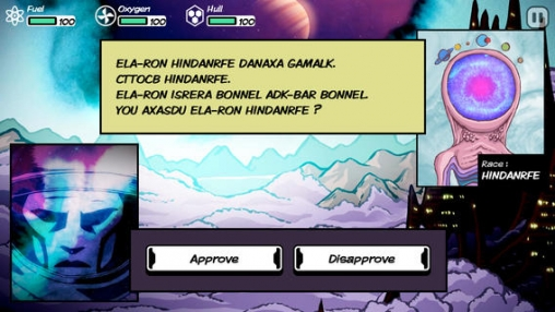 Screenshots of the Out there game for iPhone, iPad or iPod.