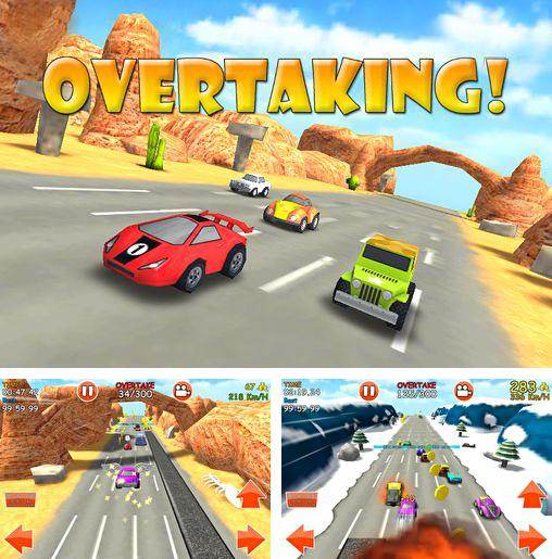 In addition to the game Alpha and Omega Alpha Run Game for iPhone, iPad or iPod, you can also download Overtaking for free.