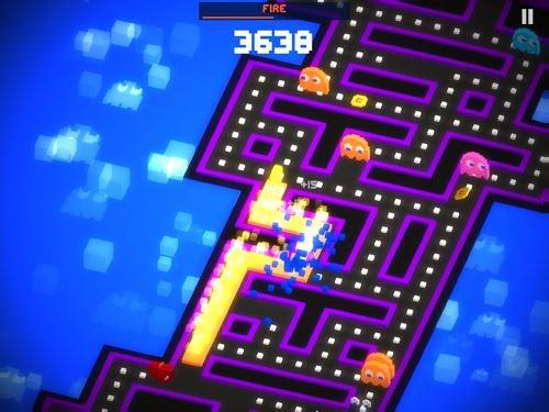 Descarga gratuita del juego Pac-man 256 para iPhone.