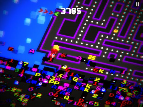 Descarga gratuita de Pac-man 256 para iPhone, iPad y iPod.