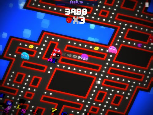 Capturas de pantalla del juego Pac-man 256 para iPhone, iPad o iPod.