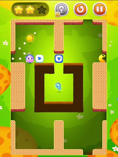 Download Pac man bounce iPhone free game.