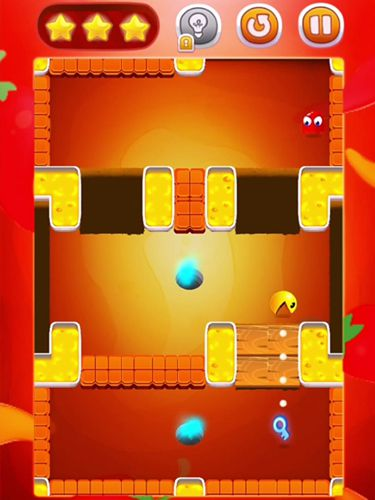 Геймплей Pac man bounce для Айпад.