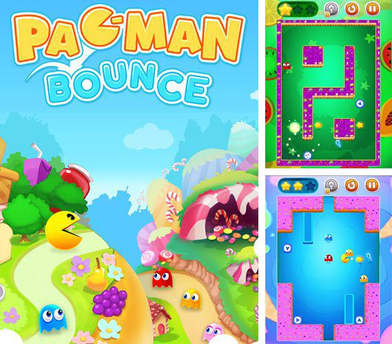 In addition to the game Jewel and goblin for iPhone, iPad or iPod, you can also download Pac man bounce for free.