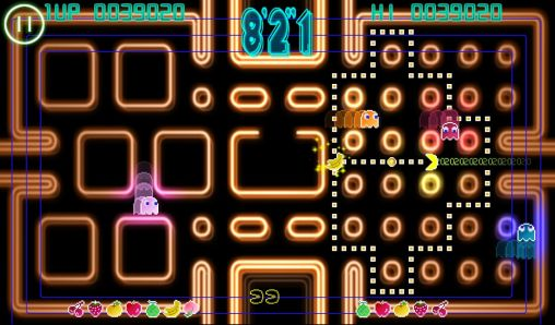 Screenshots of the Pac-Man: Championship edition game for iPhone, iPad or iPod.