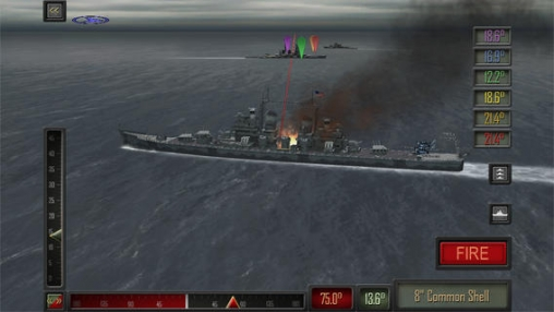 Screenshots of the Pacific fleet game for iPhone, iPad or iPod.
