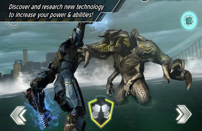 Screenshots of the Pacific Rim game for iPhone, iPad or iPod.