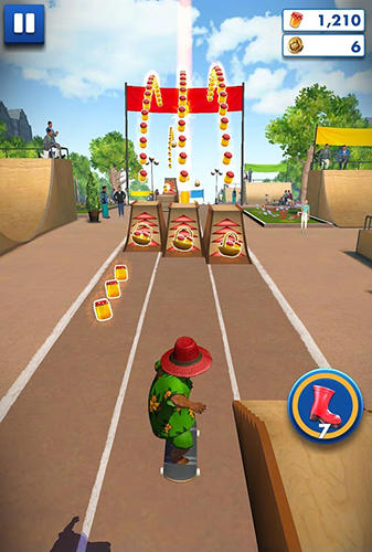 Descarga gratuita del juego Paddington: Carrera para iPhone.
