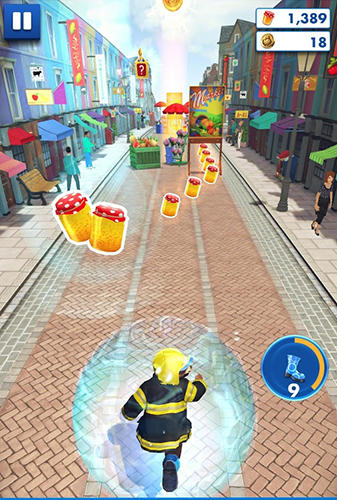 Écrans du jeu Paddington run pour iPhone, iPad ou iPod.
