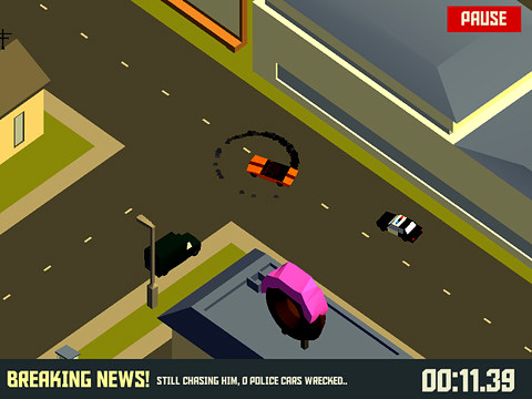Descarga gratuita de Pako: Car chase simulator para iPhone, iPad y iPod.