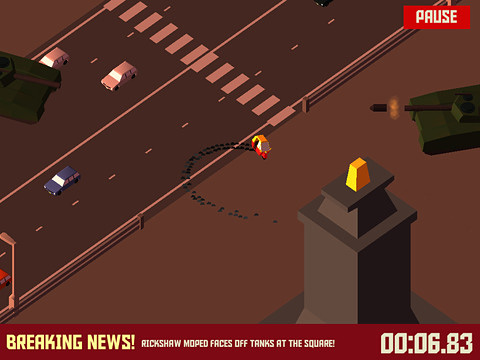 Capturas de pantalla del juego Pako: Car chase simulator para iPhone, iPad o iPod.