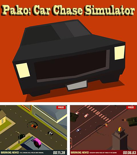 In addition to the game Speedway GP 2011 for iPhone, iPad or iPod, you can also download Pako: Car chase simulator for free.