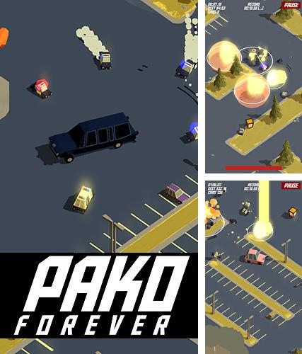 In addition to the game Max Bradshaw and the zombie invasion for iPhone, iPad or iPod, you can also download Pako forever for free.