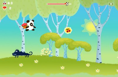 Descarga gratuita de Panda Sweet Tooth Full HD para iPhone, iPad y iPod.
