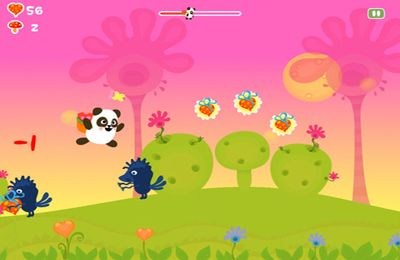 Capturas de pantalla del juego Panda Sweet Tooth Full HD para iPhone, iPad o iPod.