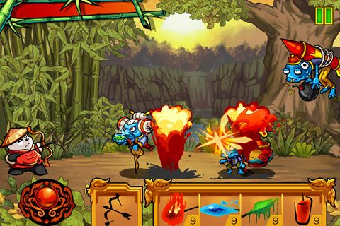 Descarga gratuita de Panda vs. zombies para iPhone, iPad y iPod.