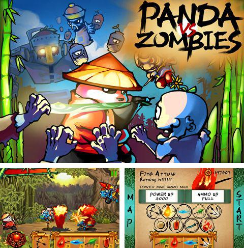 In addition to the game Solar Flux Pocket for iPhone, iPad or iPod, you can also download Panda vs. zombies for free.