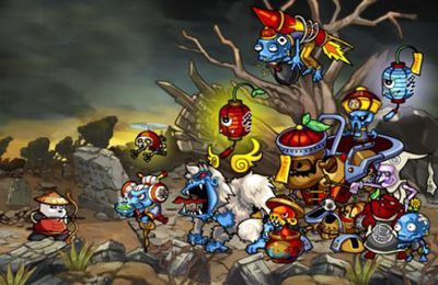 Descarga gratuita de Panda Warrior: Zombie king's treasure para iPhone, iPad y iPod.