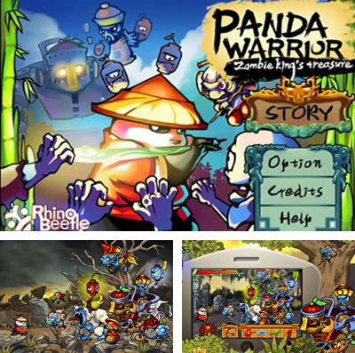 In addition to the game RunBot for iPhone, iPad or iPod, you can also download Panda Warrior: Zombie king's treasure for free.