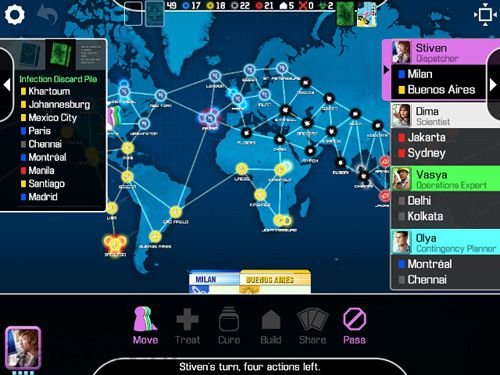 Téléchargement gratuit de Pandemic: The board game pour iPhone, iPad et iPod.